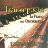 Transcriptions for Piano and Orchestra