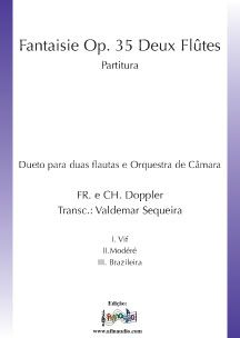 Fantasie Op.35 Deux Flûtes