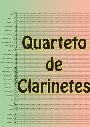 Quarteto de Clarinetes