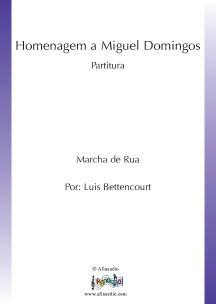 Homenagem a Miguel Domingos