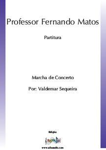 Professor Fernando Matos