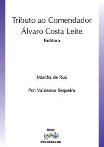 Tributo ao Comendador Alvaro Costa Leite