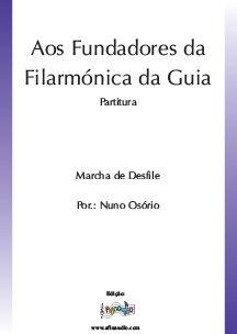Aos Fundadores da Filarmonica da Guia
