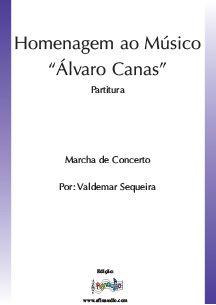"""Homenagem ao Musico """"Álvaro Canas"""""""
