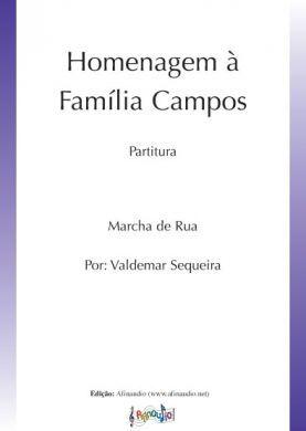 Homenagem à Família Campos